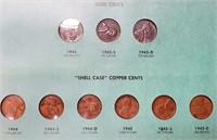 WORLD WAR II EMERGENCY COINS  (25)