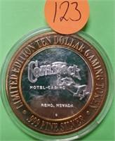 (123) Comstock Casino .999 Silver Strike