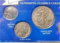 "(126) ""VANASHING"" CLASSIC US COINS"
