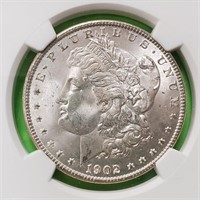 "1902 ""O"" ""MS64"" - MORGAN SILVER DOLLAR (104)"