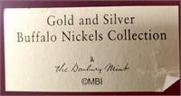 (124) GOLD & SILVER PLATED NICKEL COLLECTION