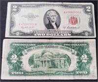 (139) 4 RED SEAL $2.00 BILLS