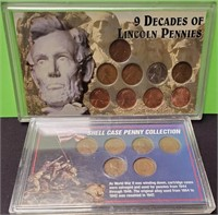 (127)2 COLLECTIONS OF WHEAT PENNIES