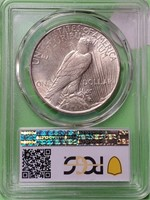 1935 - PEACE SILVER DOLLAR (114)