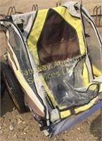 Black & Yellow Schwinn Bike Trailer