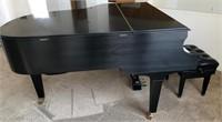 66 - GORGEOUS BALDWIN BABY GRAND PIANO W/ BENCH