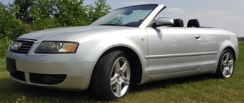 2004 Audi A4 Convertible