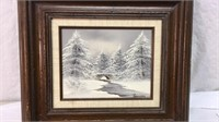 Framed, Signed Painting 16x18