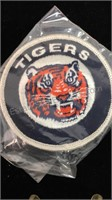 Detroit Tigers Embroidered Patch, Pins and Lion