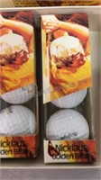 Nicklaus Golden Bear Golf Balls- NIB