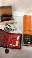 Vintage Tool Set, Ideal Model M Seal and Student