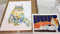Cat Drawing and Picture