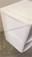 Sterilite Plastic 2 Drawer Storage Bin 24x22x20