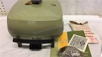 West Bend Electric Skillet & Vintage Nut Cracker