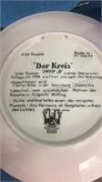 Set of 4 Konigszelt  Bayern Collector Plates