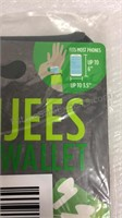 2 Packs of 2 Banjees Wrist Wallets and