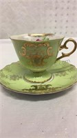 Royal Halsey Very Fine China Tea Cup and Saucer