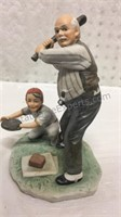 Norman Rockwell Batter Up Figurine