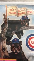Pair of Vintage Chicago Cubs Posters 17x22 & Sport