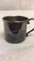 Vintage King Edward SilverPlate Childs Mug, and