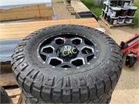 4- Nitto XD Series Tires & Rims 35x12.5 R18LT