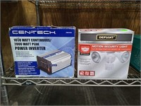 Centech Power Inverter Emerald Light, Motion Light