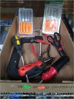 4 Flats Of Assorted Tools