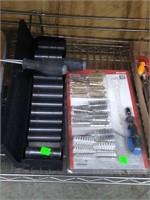 3 Flats Of Assorted Tools
