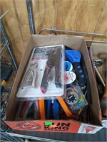 Rack Of Assorted Tools: Rack Not Included