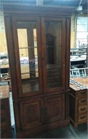 Glass Front Cabinet 40x16x80