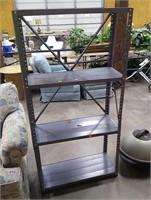 Metal Shelf Unit 30x12x59
