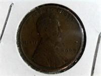 1909 Wheat Pennies
