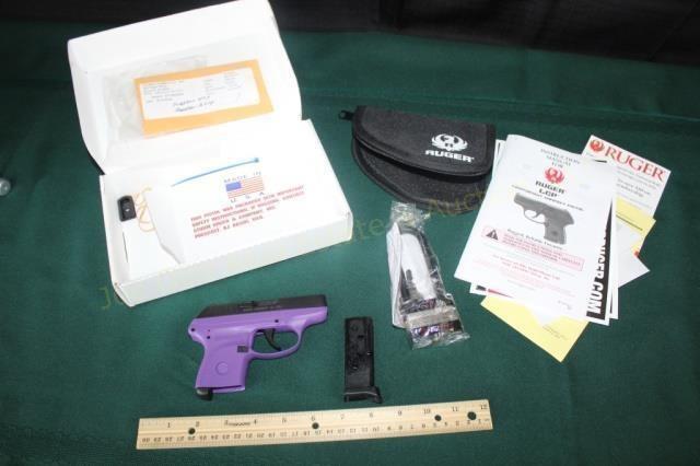 Ruger LCP-PG .380 Semi-Auto Pistol Purple Model