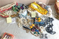group of costume jewelry