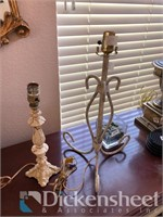 Lamp package along with decorative items on top