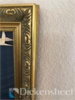 Decorative framed artwork