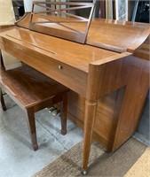 11 - ACROSONIC PIANO & BENCH