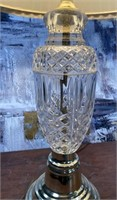 11 - PAIR OF STUNNING CRYSTAL BASED LAMPS