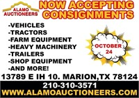 Alamo Auctioneers marion auction 10/24/2020