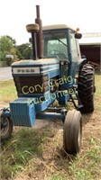 FORD 8700 DIESEL TRACTOR WITH CAB