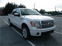 2012 FORD F150 4WD PLATINUM PICKUP Fully LOADED