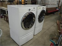 Frigidaire Front Load Washer & Dryer