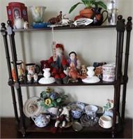 """Lot # 4150 -Mahogany three tier shelf 31"""" x29"""""""