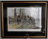 """Lot # 4160 -""""The Pink of Condition"""" framed"""