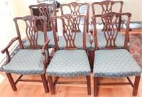 Lot # 4166 -Set of (6) Fancher Furniture Co.