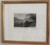 Lot # 4169 -(2) Framed lithographs Bilth and