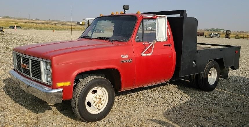 1988 GMC SIERRA 3500 DUALLY TRUCK