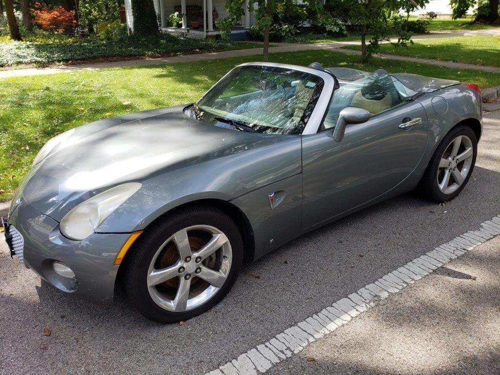 2007 Pontiac Solstice Convertible