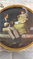 Set of 4 Norman Rockwell Collector Plates