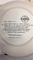 Set of 4 Annie & Daddy Warbucks Collector Plates